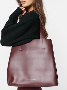 Read more about French connection structured tote in berry-purple