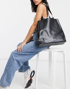 Read more about French connection structured tote in black