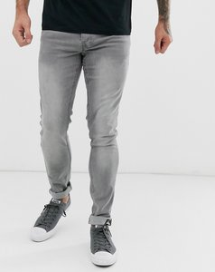 Read more about French connection super skinny light wash jeans-black