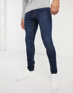 Read more about French connection super skinny stretch jeans in dark blue-navy