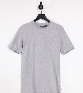 Read more about French connection tall essentials t-shirt in grey