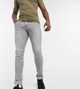Read more about French connection tall slim fit stretch jeans in grey wash