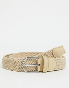 Read more about French connection woven belt in stone-neutral