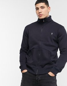 Read more about French connection zip through funnel bomber jacket in navy