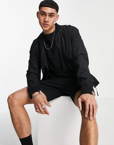 Read more about G-star zip through bomber jacket in black