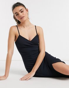 Read more about Girl in mind split leg maxi dress in navy