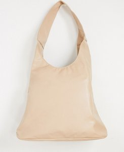 Read more about Glamorous slouchy tote bag in camel-neutral