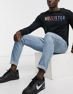 Read more about Hollister skinny jean in light wash-blue