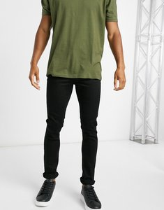 Read more about Ldn dnm skinny fit jeans in black wash
