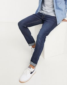 Read more about Lee jeans luke slim tapered jeans in dark blue wash-navy