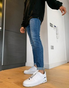 Read more about Lee malone high stretch skinny jeans in mid blue