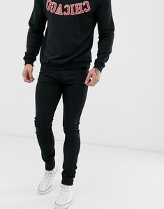 Read more about Lee malone skinny fit jean in black rinse wash