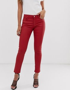 Read more about Mango slim legcropped jeans-red