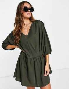 Read more about Mango smock dress in grey