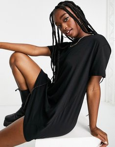 Read more about Na-kd t-shirt dress in black