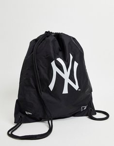 Read more about New era drawstring bag in black