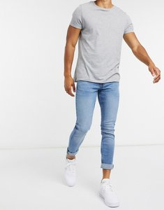 Read more about New look skinny jeans in mid blue wash