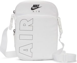 Read more about Nike air heritage flight bag in white