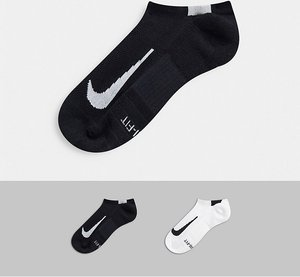 Read more about Nike running 2 pack logo no show socks-white