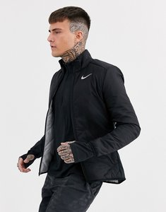 Read more about Nike running aerolayer jacket in black