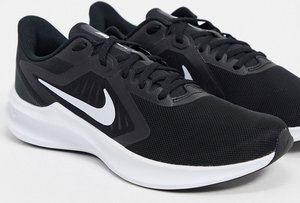 Read more about Nike running downshifter trainers in black
