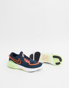 Read more about Nike running joyride 2 trainers in navy and yellow