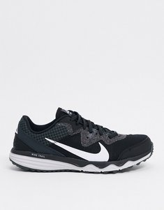 Read more about Nike running juniper trail trainers in black