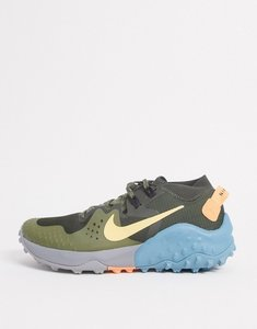 Read more about Nike running wildhorse 6 trainers in green