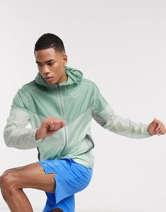 Read more about Nike running windrunner hooded jacket in green