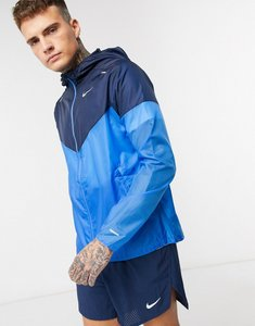 Read more about Nike running windrunner jacket in blue