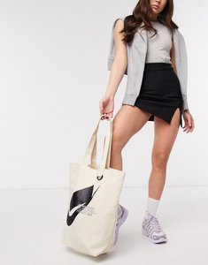 Read more about Nike swoosh canvas tote bag-cream