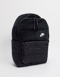 Read more about Nike velvet backpack in black