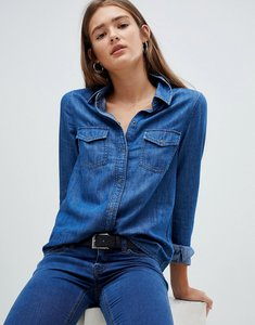 Read more about Noisy may denim shirt-blue