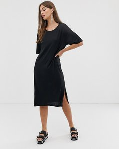 Read more about Noisy may oversized t-shirt dress in black