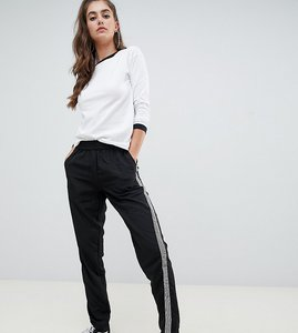 Read more about Noisy may tall magic sports tape side trousers-black