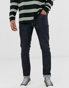 Read more about Nudie jeans co lean dean slim tapered fit jeans in 16 dips blue-navy