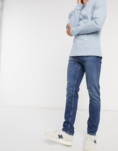Read more about Nudie jeans co lean dean slim tapered fit jeans in blue vibes