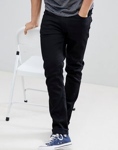 Read more about Nudie jeans co lean dean slim tapered fit jeans in ever black