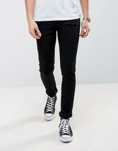 Read more about Nudie jeans co skinny lin skinny fit jeans in black