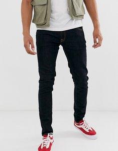 Read more about Nudie jeans co skinny lin skinny fit jeans in deep orange-navy