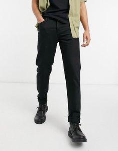Read more about Nudie jeans steady eddie ii regular tapered fit jeans in everblack