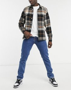 Read more about Nudie jeans steady eddie ii regular tapered fit jeans in friendly blue
