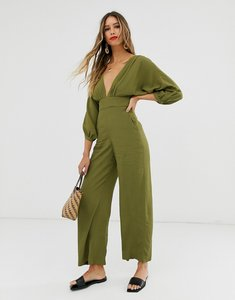 Read more about other stories low neck jumpsuit in green