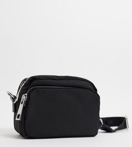 Read more about Pimkie cross body canvas bag in black