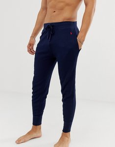 Read more about Polo ralph lauren cuffed lounge joggers player logo in navy