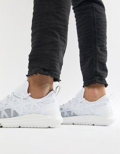 Read more about Polo ralph lauren performance train 200 trainers stretch mesh in white grey