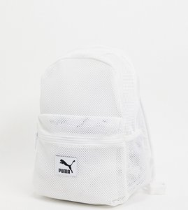 Read more about Puma mesh backpack in white