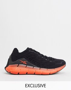 Read more about Reebok running zig kinetica in black and orange-white