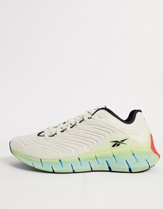 Read more about Reebok running zig kinetica trainers in stone-multi