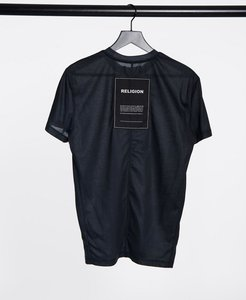 Read more about Religion oversized t-shirt in washed black